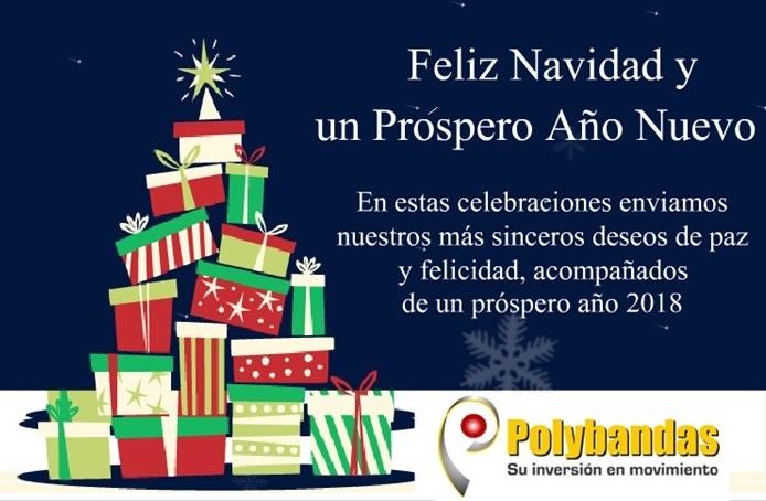 Feliz Navidad les desea Polybandas
