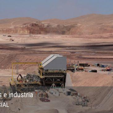 Minera Antucoya contempla aumentar superficie de sus depósitos de ripios