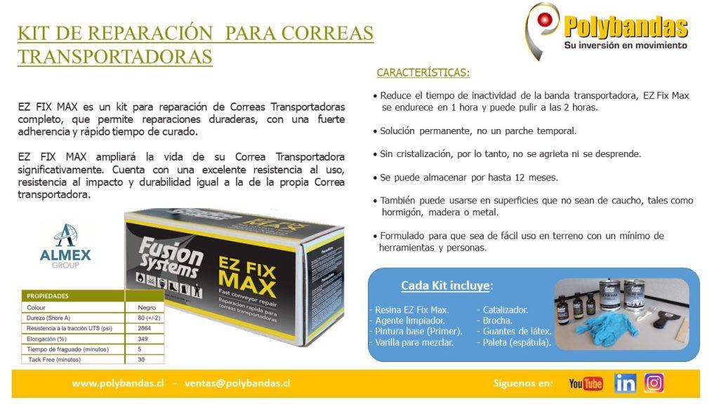 Kit de Reparación Correas Transportadoras