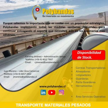 Polybandas sigue en movimiento