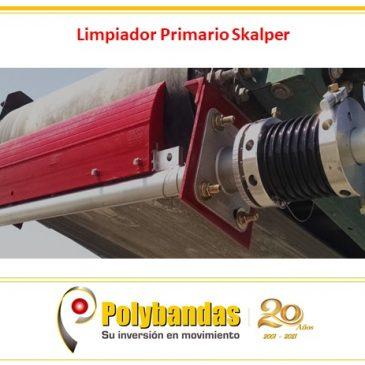 ¿Sabías que ellimpiador de correa transportadorasimple y altamente efectivo Skalper (ASGCO) tiene un excelente rendimiento gracias al diseño único y patentado de su hoja?